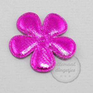 Bloem applicatie glans magenta 35mm per stuk