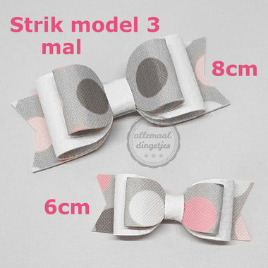 Strik mal download pdf - Model 3 - lengte 6 en 8cm